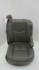 06 Chevy Avalanche 1500 Front Right Passenger Power Seat Grey Leather