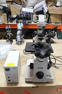 Nikon Diaphot Inverted Lab Contrast Microscope