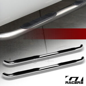 For 2008 2013 Nissan Rogue 3 Side Step Nerf Bars Rail Running Boards Hd Chrome