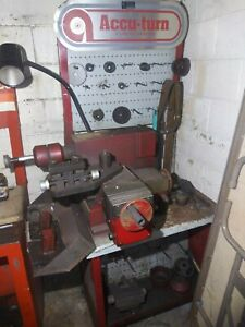Accuturn Combination Brake Lathe Machine Model 8922 Used South Chicago