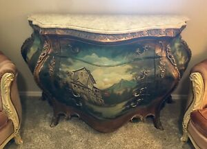 Beautiful Antique French Bombay Chest