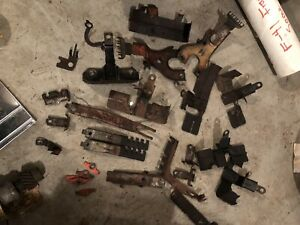 Huge Lot Of Camaro Chevelle Corvette Impala Spark Plug And Wire Brackets