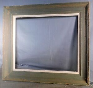 Vintage Driftwood Gray Mid Century Modern 1965 Rustic Wood 16x19 Picture Frame
