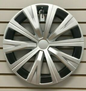 New 16 10 spoke Silver Hubcap Wheelcover Fits 2018 2019 Toyota Camry