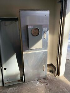 Milbank Outdoor Electric Ct Cabinet 3 Phase 400 Amps 208y 120