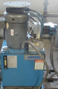 Vickers Power Systems Hydraulic Pump 7 5 Hp 30 Gal