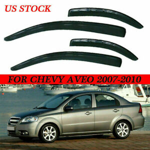 Vent Shade Window Visors Rain Guard Deflector For Chevy Aveo 2007 2008 2009 2010
