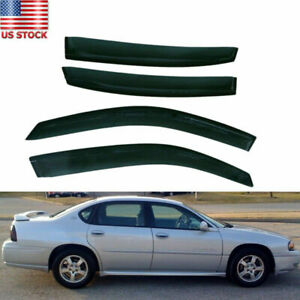 Fit For Chevy Impala 2000 2005 Window Visor Rain Wind Deflector Left right Side