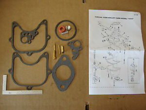 Ford Tractor Holley Carburetor Kit 2000 3000 3500 4000 4500 5000 6000 Ford