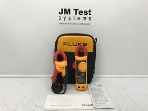 Fluke 322 Clamp Meter And I400 Ac Current Clamp Br