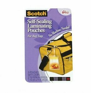 3m ls854 5g Self sealing Laminating Pouches Ls854 5g Price Is For 24 Pack
