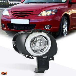 For 04 06 Mazda 3 Oe Style Clear Lens Front Bumper Driving Fog Light lamp Right