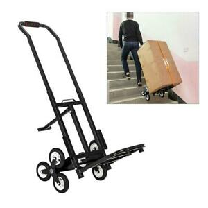 Portable Stair Climbing Folding Cart Climb Hand Truck Dolly All Terrain Stair