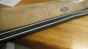 Nos 1976 1977 1978 Ford Mustang Ii Front Bumper Impact Strip Molding Pad New Nos