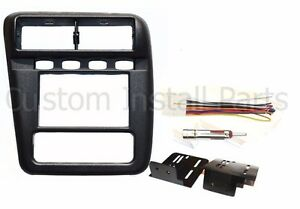 Aftermarket Radio Install Bezel Double Din Dash Complete Kit Fits Chevy Camaro