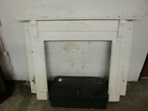 Fireplace Mantle Surround Vintage Solid