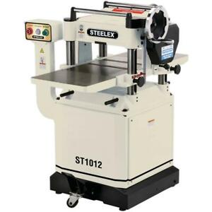 Steelex 15 Planer With Helical style Cutterhead St1012