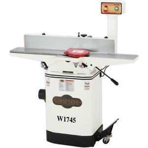 Shop Fox 6 Jointer With Mobile Base W1745