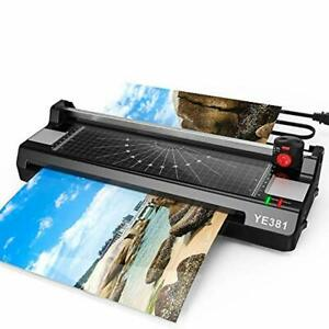 3 In 1 Thermal Laminating Machine Paper Trimmer 20 Pouches School Office Home
