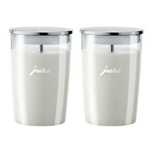 Jura Glass Milk Container (Pack of 2)