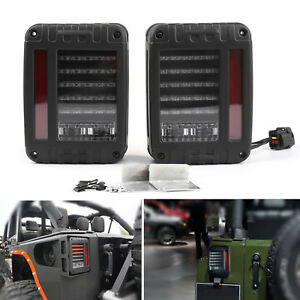 Led Tail Lights Rear Brake Reverse Lamps For Jeep Wrangler Jk 2007 2017