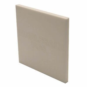 White Plastic Perspex Acrylic Sheet Material A5 A4 A3 2mm 3mm 5mm 6mm 8mm 10mm