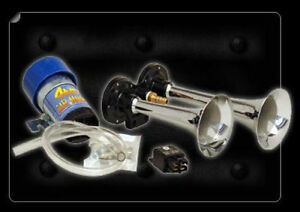 Direct Drive Car Truck Dual Air Horn Kit 8 5 And 6 5 Trumpets