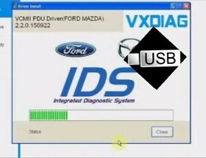 2019 Ford Ids V112 03 Diagnostic Software For Ford Vcm vmware Image Usb