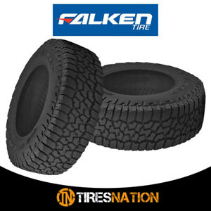 2 Falken Wild Peak A t3w Lt35x12 50r17 E 121r All Terrain Any Weather Tires