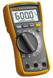 Fluke 117 ob Handheld Multimeter Type Digital Style Hand held Measures Ac