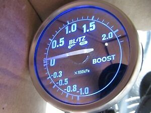 Jdm For Toyota Mr2 Sw20 Jza80 St205 Subaru Gdb Turbo Boost Gauge Meter Blitz