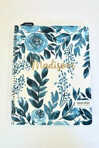 Hardcover Daily Weekly Monthly Yearly Planner With Personalized Name 2019 2020