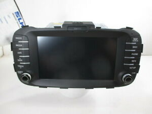 2016 Kia Soul Am Fm Navigation Player Radio W Sd Card Oem 96560 B2212ca
