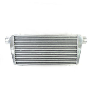 Universal Intercooler 31 x12 x3 3 I o Fit Mustang Escort Supra Celica Chrome