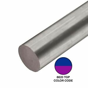 8620 Tgp Alloy Steel Round Rod 0 760 Inch X 48 Inches
