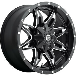 4 20x9 Black Lethal 6x135 6x5 5 1 Wheels Terra Grappler G2 Tires