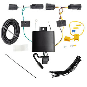 Trailer Wiring Harness Kit For 2019 Ford Escape All Styles Plug Play T one New