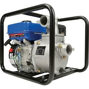 Portable Water Pump 2 In And Out 158 Gpm 7 Hp Gas Engine 92 Ft Head