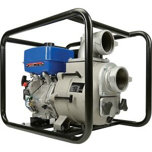 Portable Water Trash Pump 4 In And Out 1 5 Solids 458 Gpm 14 Hp Gas