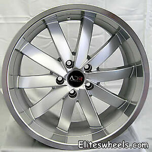 19x8 5 Hypersilver Wheel Adr Propulsion 5x100 35