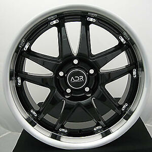 20x8 5 Black Wheel Adr Decadence 5x4 5 45