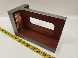 Suburban Tool Right Angle Plate Ura 040508 4 x5 x8 Made In Usa Mill