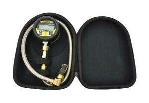 Tire Pressure Gauge Digital 100 Psi Racer Series Power Tank