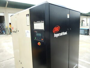 Ingersoll Rand 100 hp 75 KW Nirvana Variable Speed Drive Rotary Screw Compressor