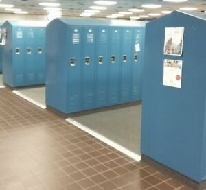 Lot Of 420 Metal Lockers Cabinets For School Gym Storage Employee Full Size