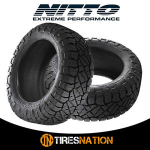 2 New Nitto Ridge Grappler 305 50r20xl 120q Tires