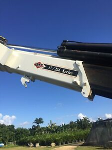 2004 Volvo Tpl Axle W Knuckle Boom Imt 37 266 With Jib