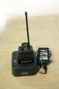 Icom Ic f60 Two Way Radio With Antenna Battery charger