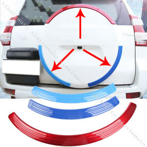 Abs Trunk Spare Tire Cover Trim Strip For 2010 19toyota Land Cruiser Prado Fj150