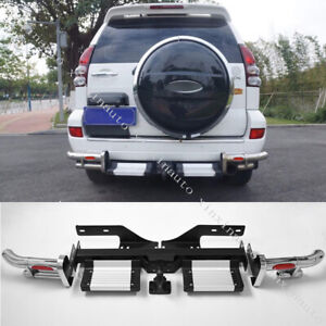 Rear Bumper Pedal Conversion Kit For 2003 2009 Toyota Land Cruiser Prado Fj120